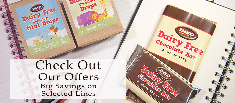 Dairy Free Chocolate Offers