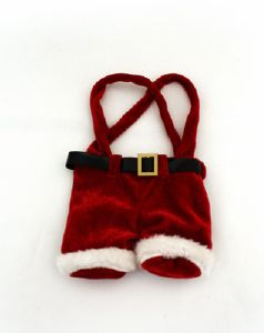 Santa's trousers with Chocolate