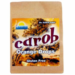CAROB  Orange Drops 120g