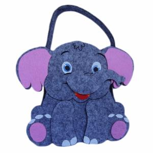 Cute Elephant Bag with Carob