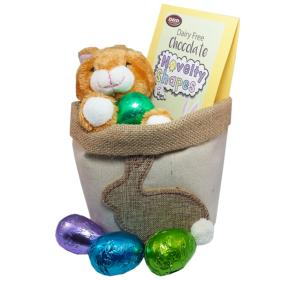 Dairy free chocolate easter gifts dd chocolates hessian planter with easter chocolate negle Image collections