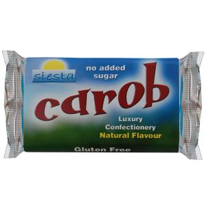 Carob Natural 50g bar x 24