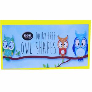 Chocolate foiled Owl Shapes  80g