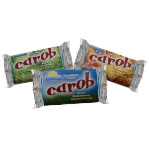 Carob Mixed Box 50g Bar x 24