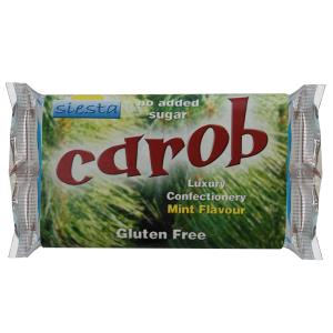 Carob Peppermint 50g Bar x 24