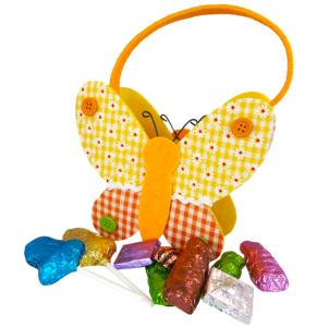 Felt Butterfly Bag with Carob Products
