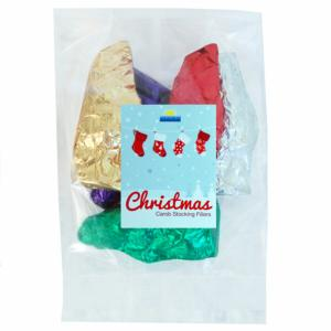 Carob stocking filler - Father Christmas shapes