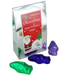 Chocolate Father Christmas Shapes 100g