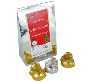 Chocolate Snowman Shapes 100g