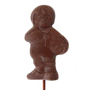 Chocolate Footballer Lollies x 3