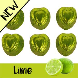 New LIME flavoured chocolate fondants