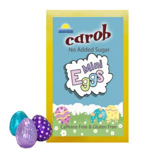 Carob Mini Eggs 120g