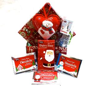 Attractive Christmas themed box with Chocolate