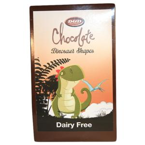 Chocolate Dinosaur Shapes 120g