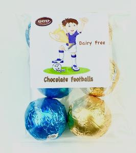 Chocolate Hollow Football Shapes