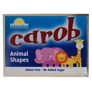 Carob Animal Shapes 120g