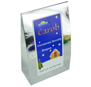 Carob Christmas Novelty Shapes 100g