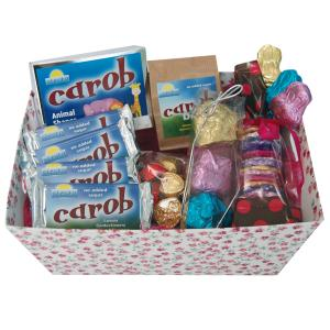 Carob products in attractive Hamper