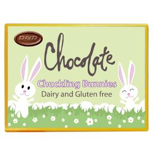 Chocolate Chuckling Bunny Shapes 120g