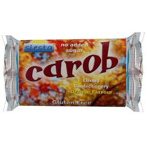 Carob Orange 50g bar x 1