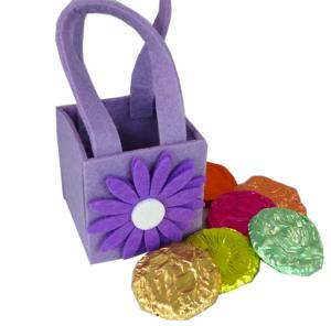 Cute Daisy Bag with Chocolate Flowers