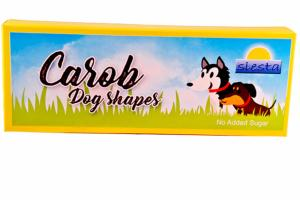 Carob boxed Dog Shapes