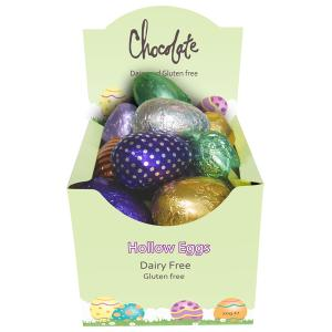 Chocolate Box of 18 x 20g Hollow Eggs