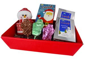 Christmas Hamper Tray with Carob