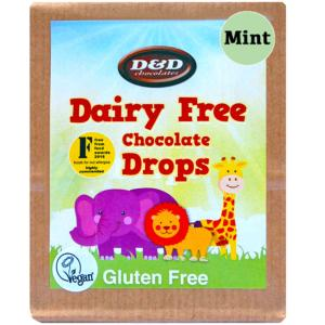 Chocolate MINT Drops 70g