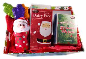 Deluxe Christmas Hamper with chocolate